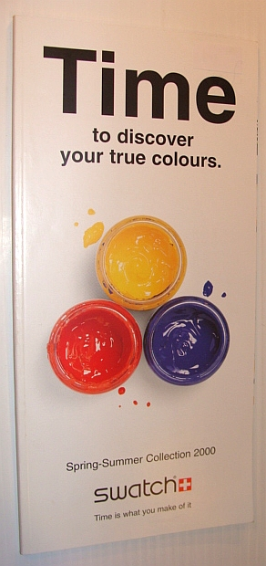 Image for Time to Discover Your True Colours - Swatch Spring-Summer Collection 2000