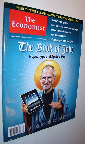 Image for The Economist Magazine, January 30th - February 5th 2010 - Steve Jobs/iPod Cover