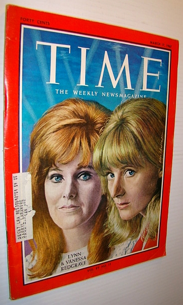 Image for Time Magazine, March 17, 1967 - Lynn & Vanessa Redgrave Cover