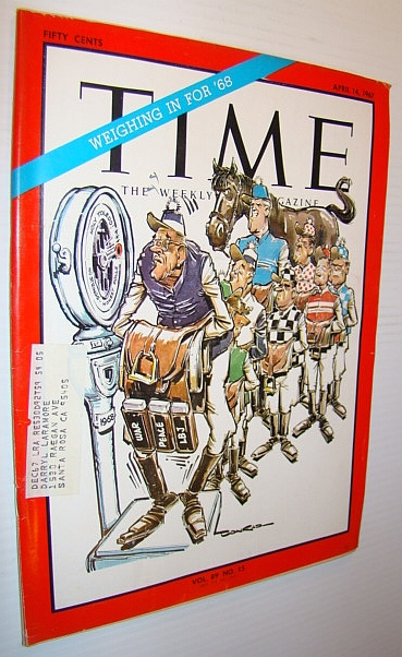 Image for Time Magazine, April 14, 1967