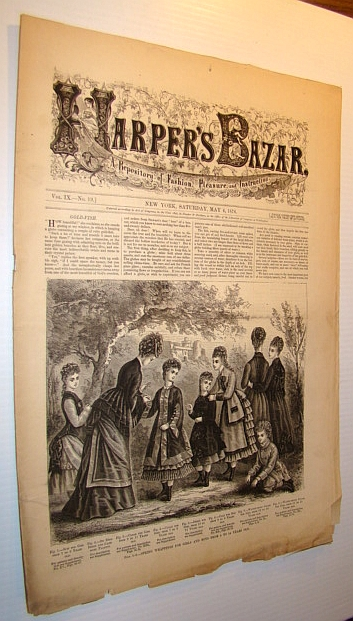 Image for Harper's Bazar (Bazaar) Magazine, May 6, 1876 - A Repository of Fashion, Pleasure, and Instruction