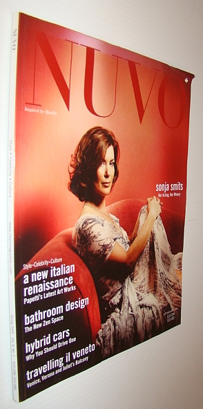 Image for NUVO Magazine, Spring 2005 - Sonja Smits Cover Photo