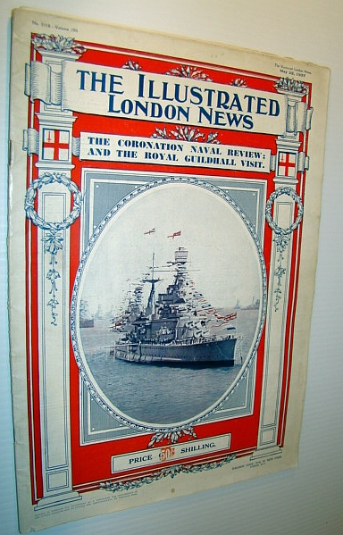 Image for The Illustrated London News, May 22, 1937 - The Coronation Naval Review, Royal Guildhall Visit, The Hindenburg Disaster
