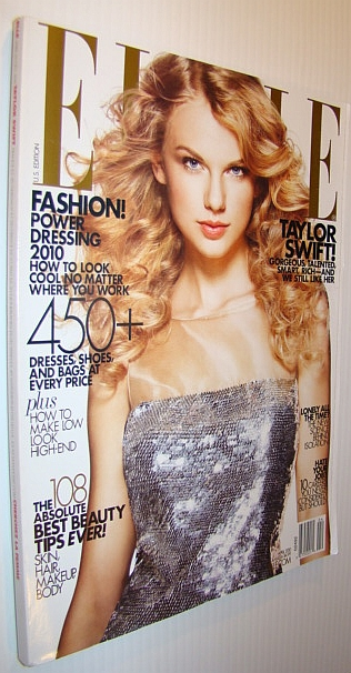 Image for Elle Magazine, April 2010 - US Edition - Taylor Swift Cover