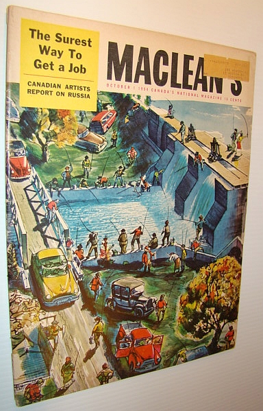 Image for Maclean's Magazine, October 1, 1954