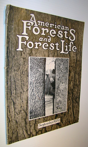 Image for America's Forests and Forest Life Magazine, September, 1929