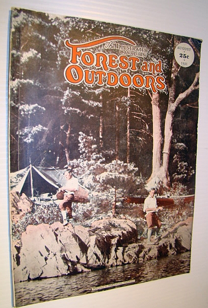 Image for The Illustrated Canadian Forest and Outdoors Magazine, August 1931