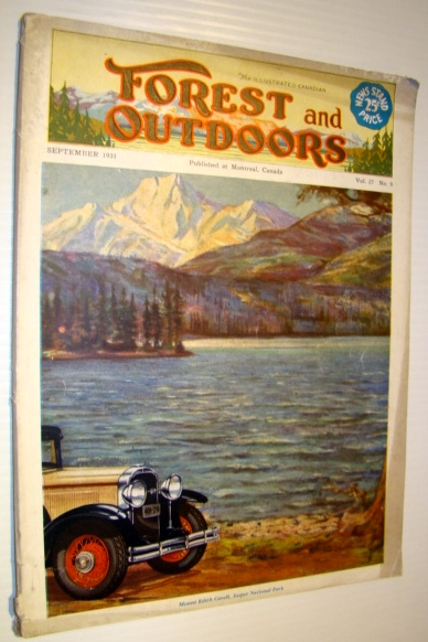 Image for The Illustrated Canadian Forest and Outdoors Magazine, September 1931