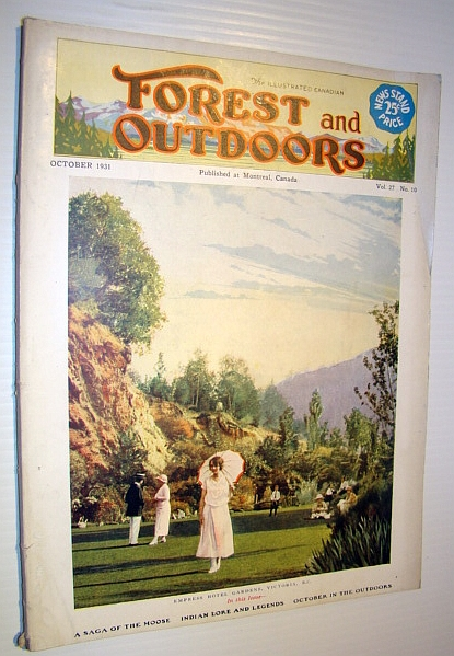 Image for The Illustrated Canadian Forest and Outdoors Magazine, October 1931