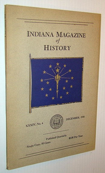 Image for Indiana Magazine of History, December 1938