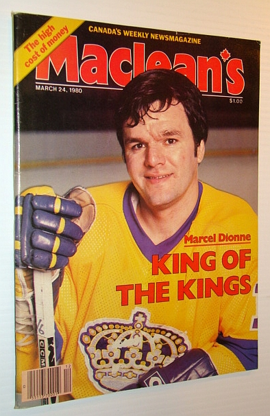 Image for Maclean's - Canada's Weekly Newsmagazine, March 24, 1980 - Marcel Dionne Cover Photo