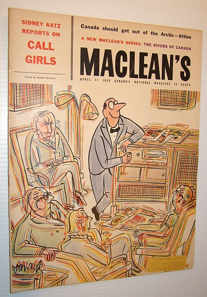 Image for Maclean's - Canada's National Magazine, April 11, 1959