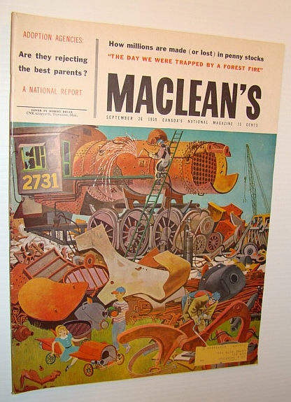 Image for Maclean's - Canada's National Magazine, September 26, 1959 - The World of Duddy Kravitz