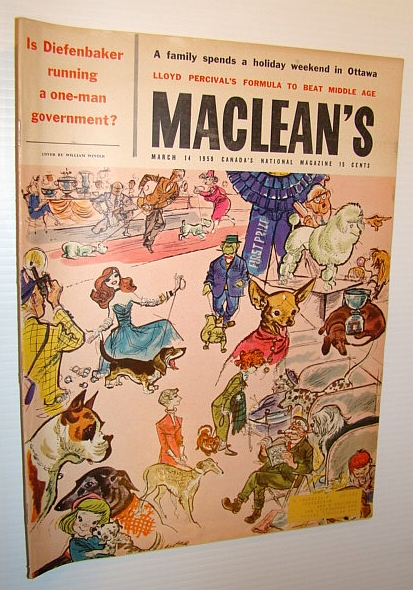 Image for Maclean's - Canada's National Magazine, March 14, 1959