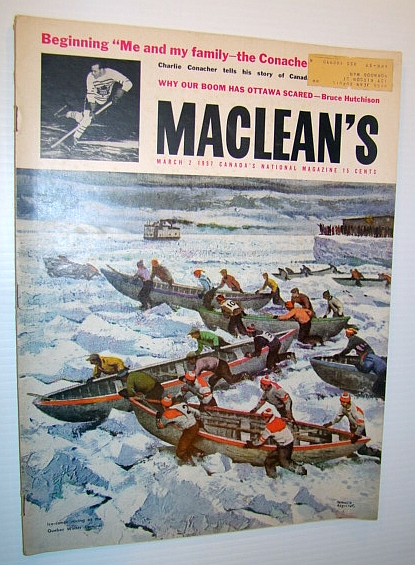 Image for Maclean's - Canada's National Magazine, March 2, 1957