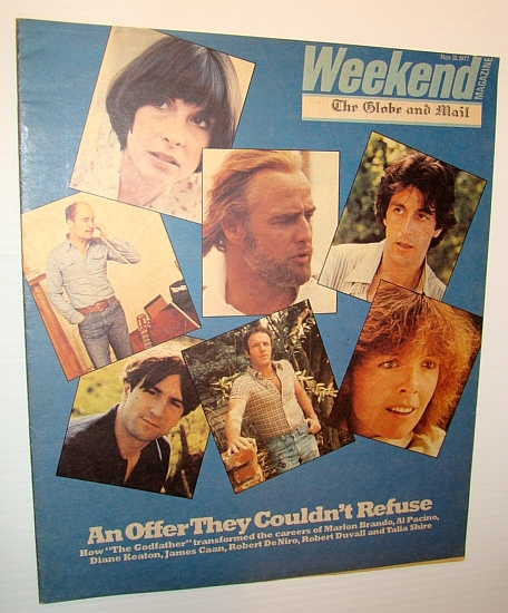 "Image for Weekend Magazine, November 12, 1977 (Canadian Newspaper Supplement) - How ""The Godfather"" Changed Careers"
