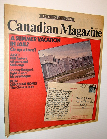 Image for Canadian Magazine, September 29, 1973