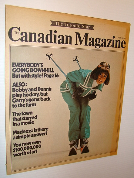 Image for Canadian Magazine, December 16, 1972