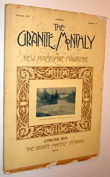 Image for The Granite Monthly - A New Hampshire Magazine, March 1896: Charles Anderson Dana