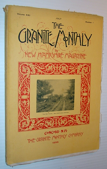 Image for The Granite Monthly - A New Hampshire Magazine, June 1896: Historic Hampton
