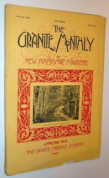 Image for The Granite Monthly - A New Hampshire Magazine, October 1896 - Andover, New Hampshire
