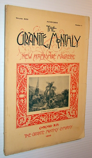 Image for The Granite Monthly - A New Hampshire Magazine - November, 1898: The Alexander Sanitarium