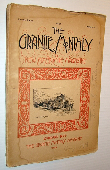 Image for The Granite Monthly - A New Hampshire Magazine - May 1899