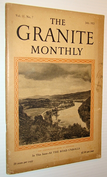 Image for The Granite Monthly - A New Hampshire Magazine - July, 1923: