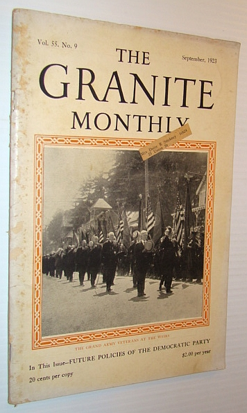 Image for The Granite Monthly - A New Hampshire Magazine, September 1923