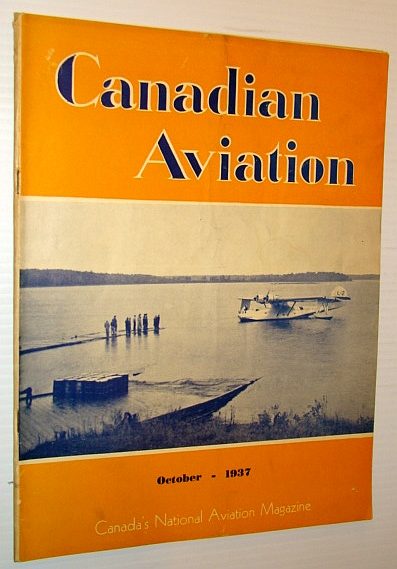 Image for Canadian Aviation, October 1937 - Canada's National Aviation Magazine