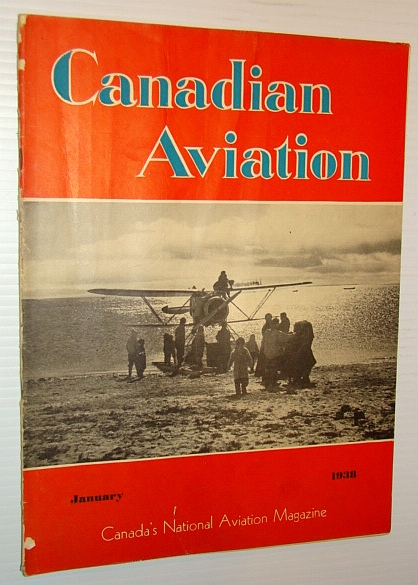 Image for Canadian Aviation, January 1938 - Canada's National Aviation Magazine