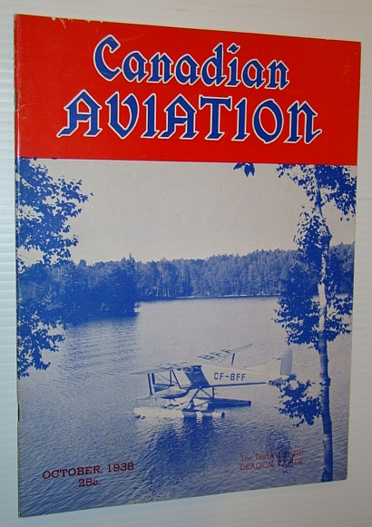 Image for Canadian Aviation Magazine, October 1938