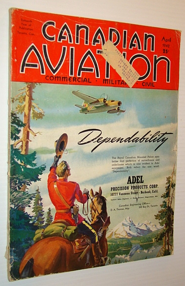 Image for Canadian Aviation Magazine, April 1942