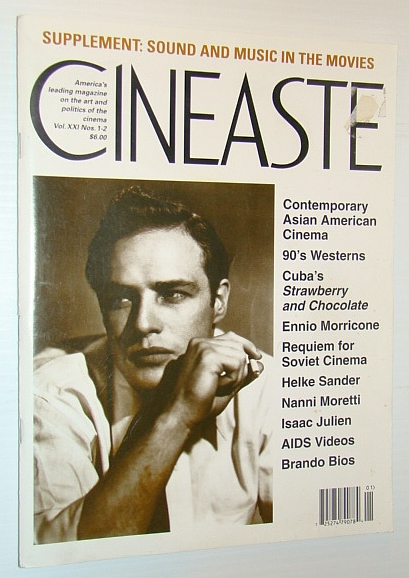 Image for Cineaste - America's Leading Magazine on the Art and Politics of the Cinema, Vol. XXI Nos. 1-2 1995 - Sound and Music in the Movies