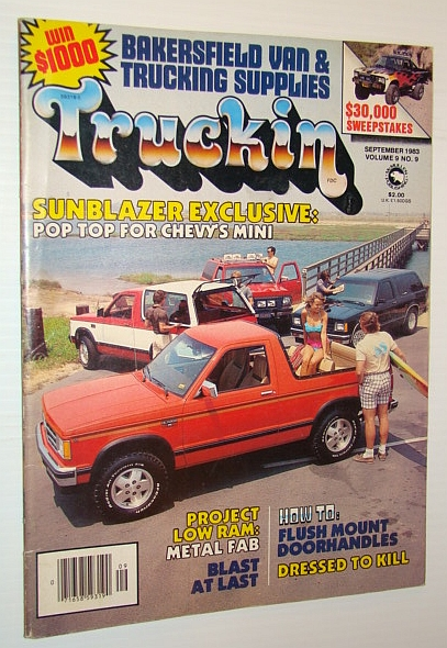 Image for Truckin' Magazine, September 1983