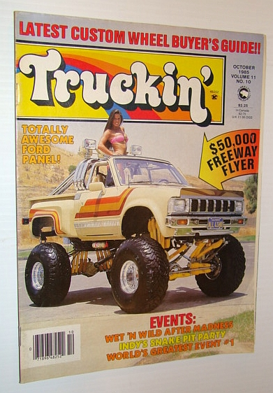 Image for Truckin' Magazine, October 1985