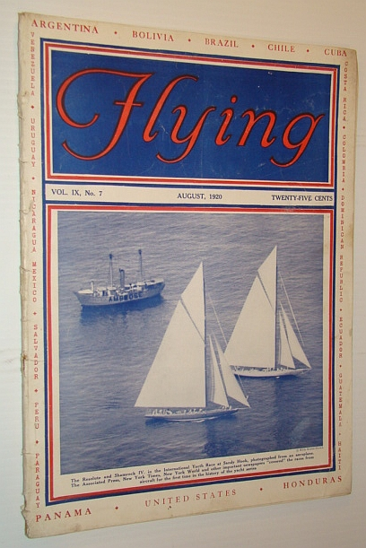 Image for Flying Magazine, August 1920, Volume IX, No. 7
