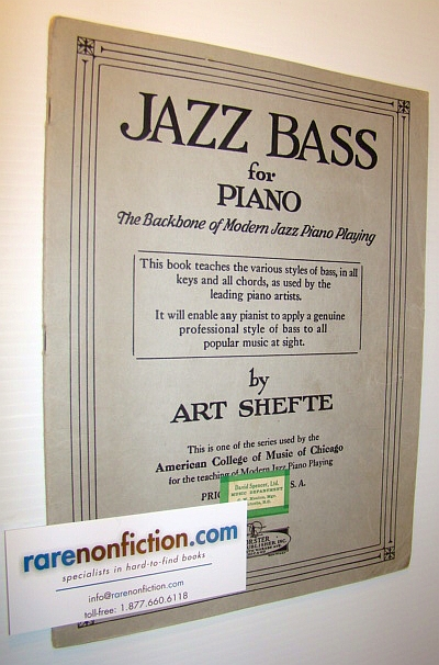 Image for Jazz Bass for Piano: The Backbone of Modern Jazz Piano Playing