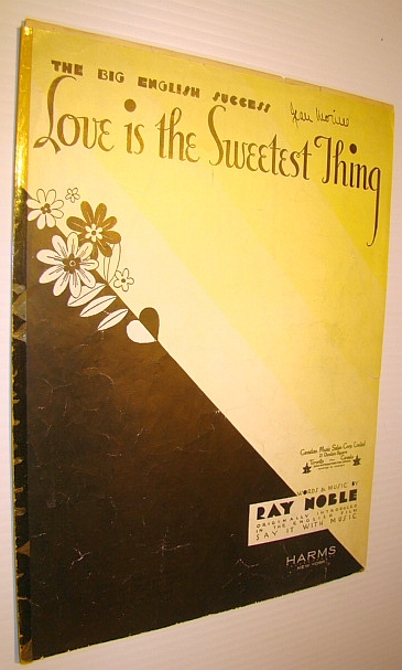 Image for Love is the Sweetest Thing - Sheet Music for Voice and Piano with Ukulele Chords