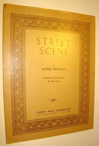 Image for Street Scene - A Modern Composition for the Piano - Sheet Music