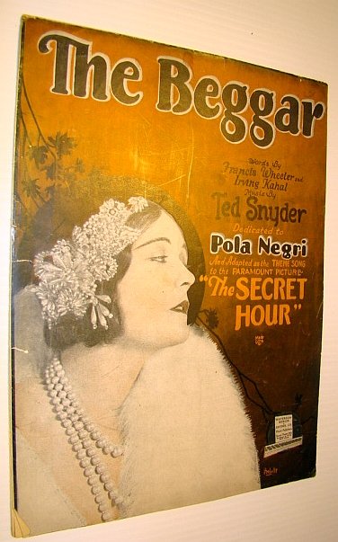 "Image for The Beggar - Sheet Music for Voice and Piano with Ukulele Chords - Theme Song to the Paramount Picture ""The Secret Hour"""
