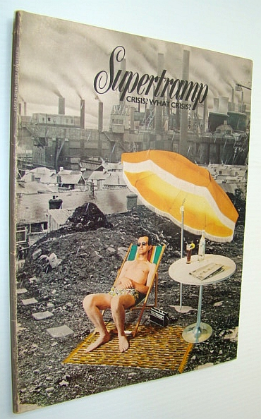 Image for Supertramp - Crisis? What Crisis? - Songbook for Piano and Voice with Guitar Chords