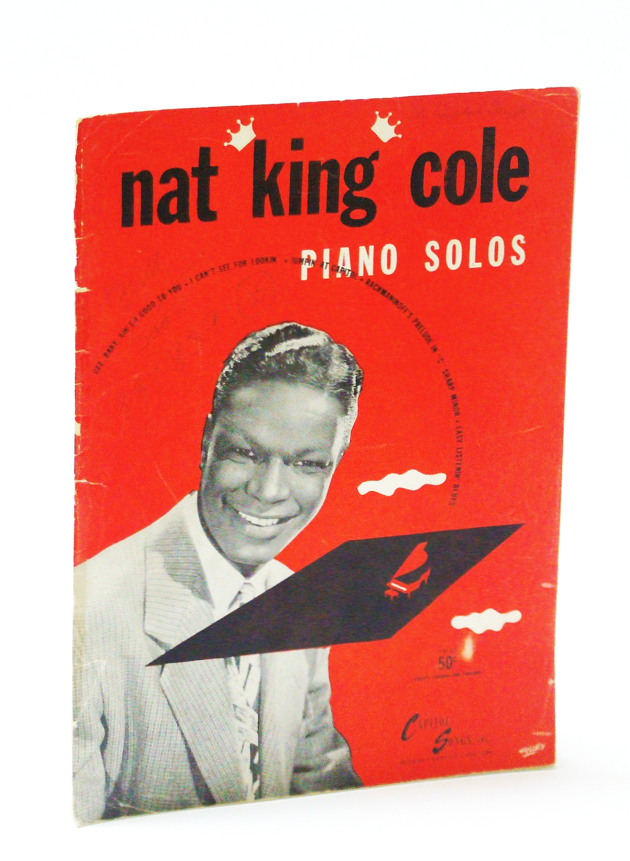 "Image for Nat ""King"" Cole Piano Solos - Piano Sheet Music"