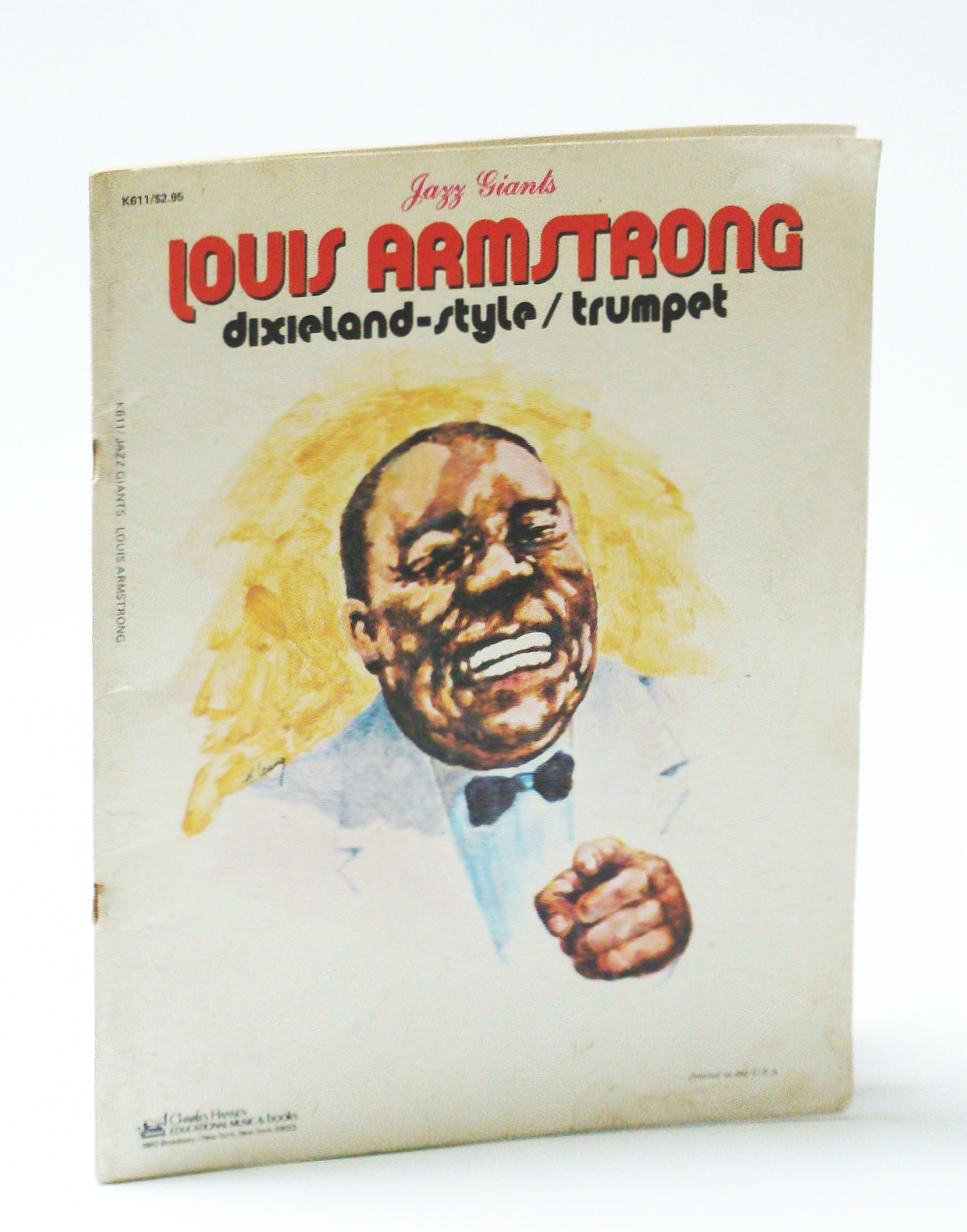 Image for Louis Armstrong - Jazz Giants: Dixieland-Style: Trumpte Sheet Music