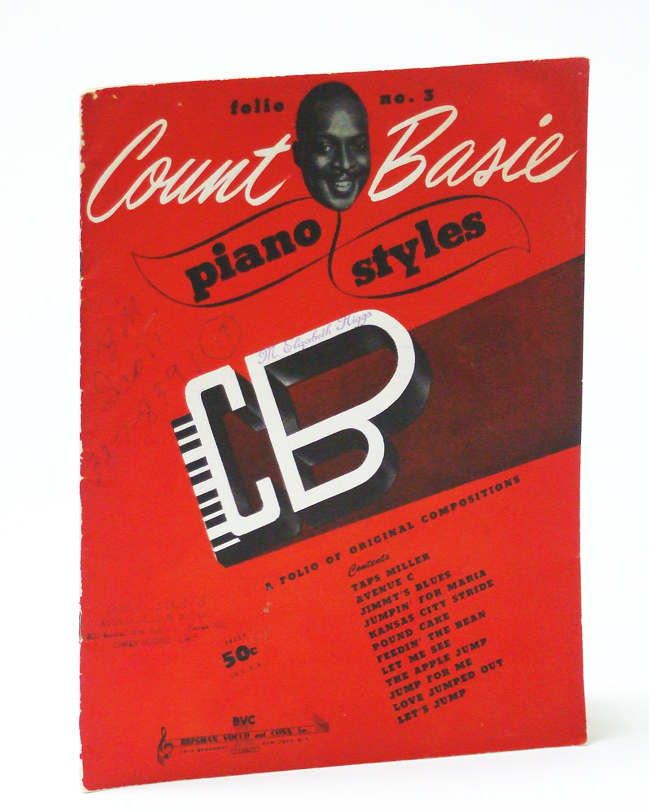 Image for Count Basie Piano Styles - Folio No. 3 (Three): Piano Sheet Music