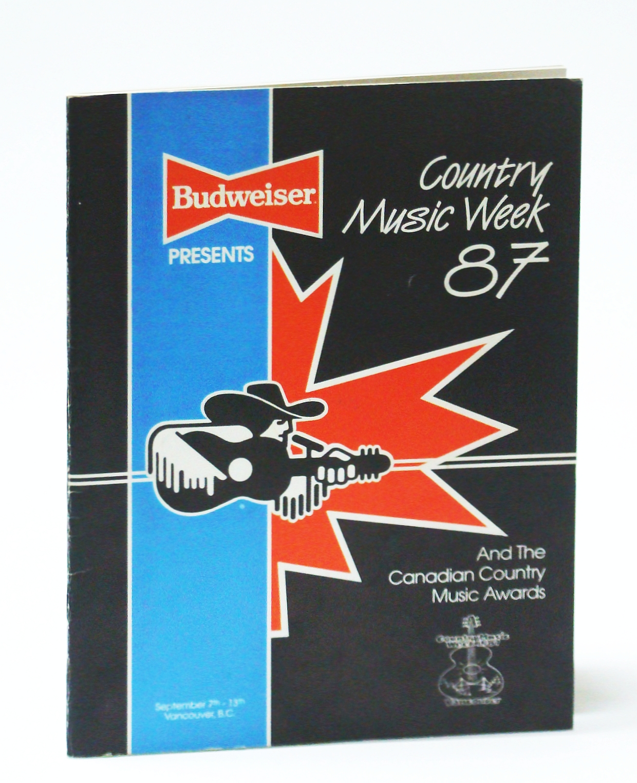 Image for Country Music Wee 87 (1987) and the Canadian Country Music Awards, September 7th-13th, Vancouver, B.C.