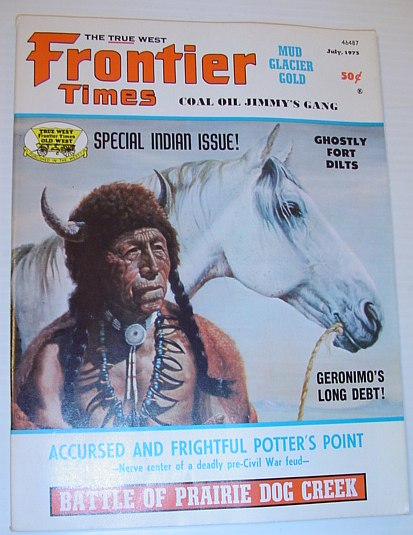 Image for Frontier Times Magazine: July 1973 *SPECIAL INDIAN ISSUE*