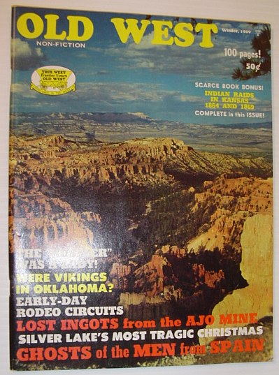Image for Old West Magazine - Winter 1969