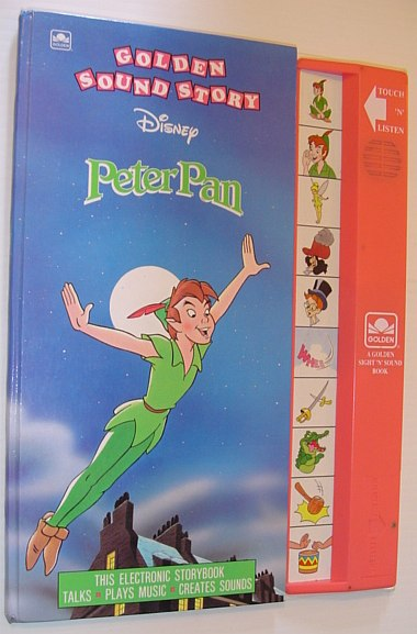 Image for Peter Pan (Golden Sight 'n' Sound Book)