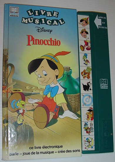 Keyword Disney Pinocchio Livre Musical Text In French